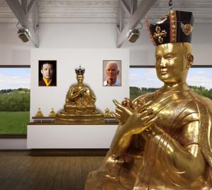 Posąg XVI Karmapy